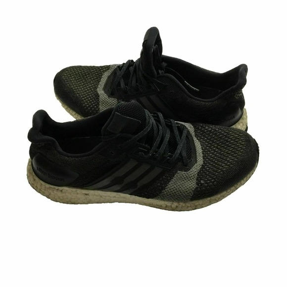 Adidas Ultra Boost ST Black/White Running Shoes